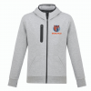 grey nba style hoodie front