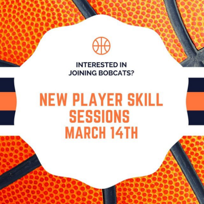 New to Bobcats? Come to our new player sessions on March 14th